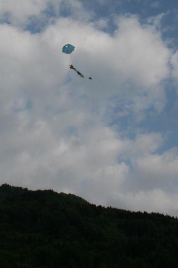 parachute ouvert